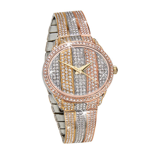 St. Lucia 3-Tone Women's Watch