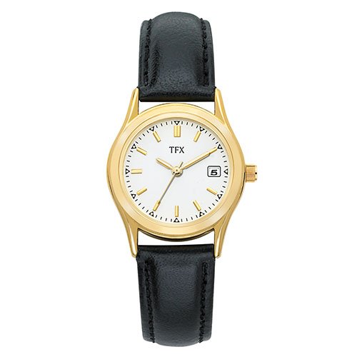 TFX Women's Leather Strap Watch