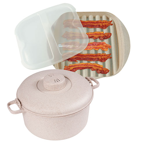 Handy Gourmet Microwave Bacon and Pressure Cooker