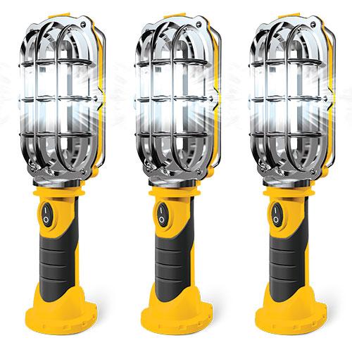 Handy Brite Cordless Work Lights - 3 Pack