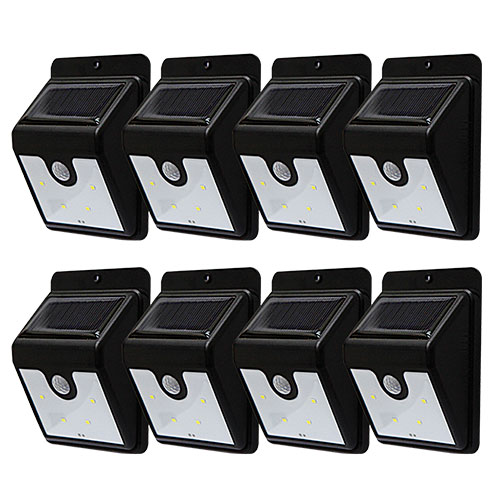 Instant Bright Motion Solar Lights -8 Pack