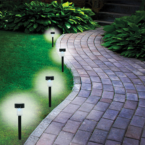 Solar Power Garden Lights - 8 Piece
