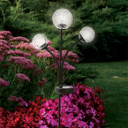 Sharper Image Solar Garden Globes