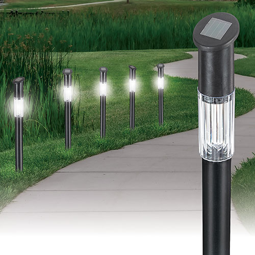 Garden Depot LED Solar Garden Lights - 6 Pack