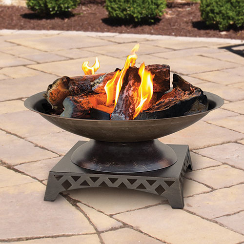 Endless Summer Bronze Outdoor Fire Pit