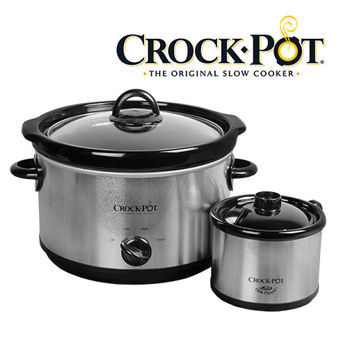 Crock Pot 5-Quart Slow Cooker