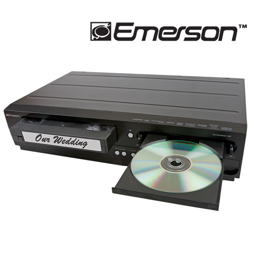 Emerson DVD Recorder/VCR Player