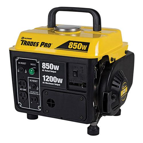 Tradespro 850/1200W Generator