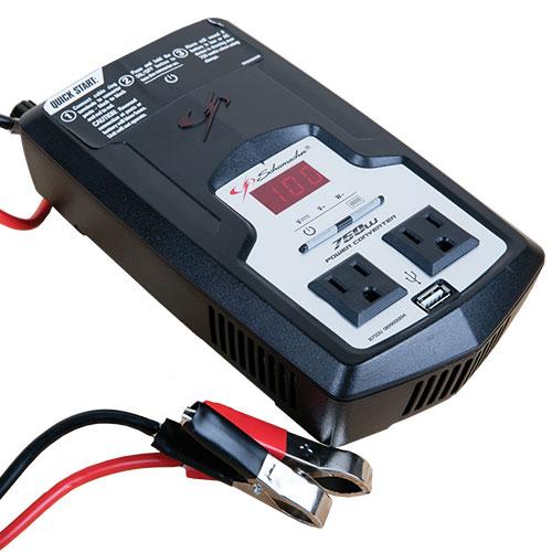 Schumacher XI75DU 750 Watt Power Inverter