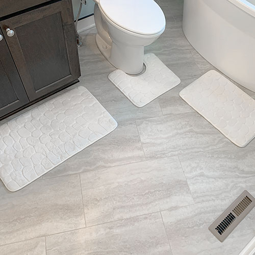 Amy Miller Home 3 Piece Memory Foam Bath Mat Set