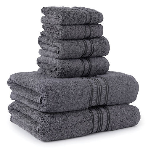 Noble House 6 Piece Bath Towel Set