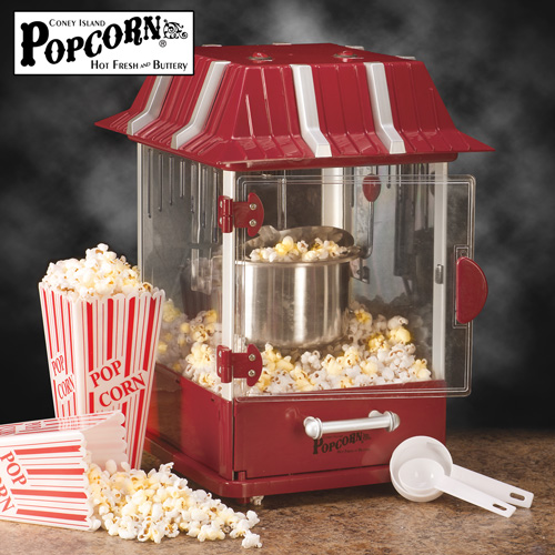 Bon Table Top 900W 2.5 Quart Popcorn Maker