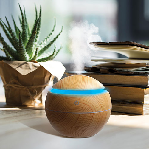 Color-Changing Desktop Humidifier - 2 Pack