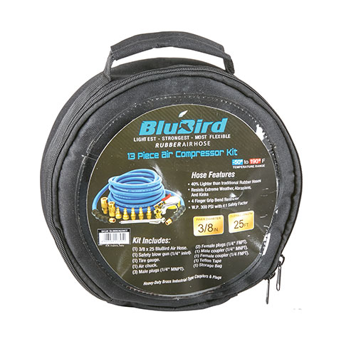 BluBird Air Hose and Accessory Kit