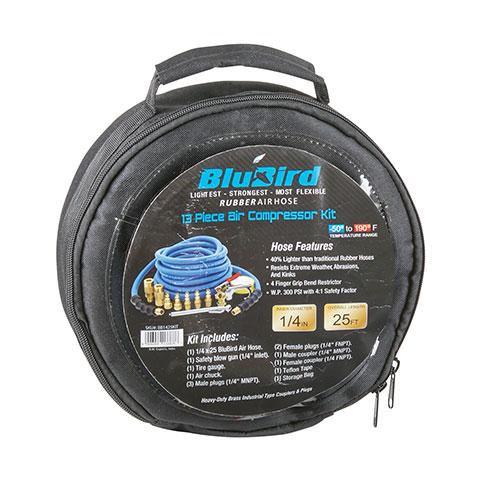 BluBird 1/4 inch Air Hose Kit