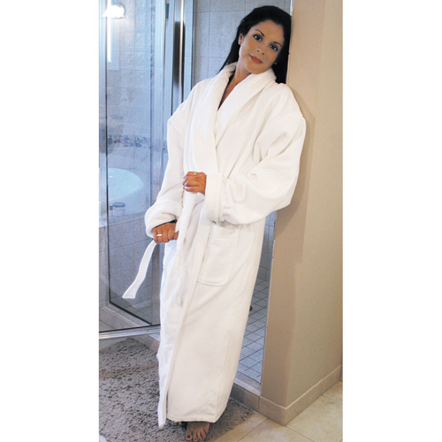 Chelsea 100% Cotton Terry Velour Shawl Robe