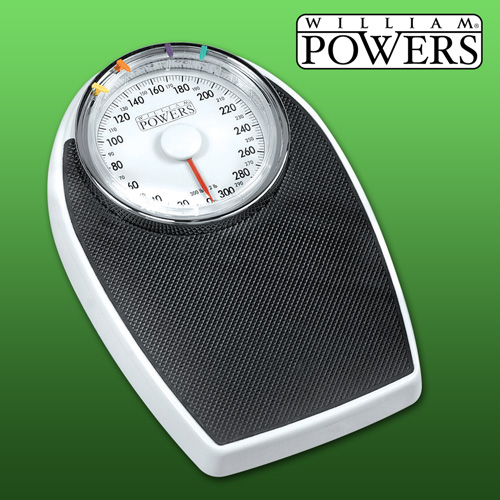 William Powers Big Dial Bath Scale