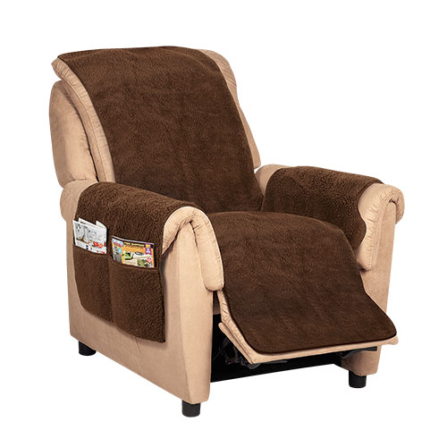 Sherpa Recliner Chair Cover