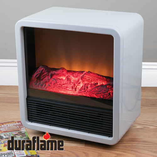 Duraflame White Space Heater Fireplace