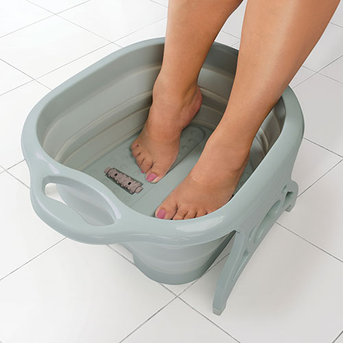 Estelle Collapsible Foot Bath Spa Set