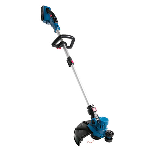 Tornado Tools 40V LI-ION Blue Cordless Grass Trimmer