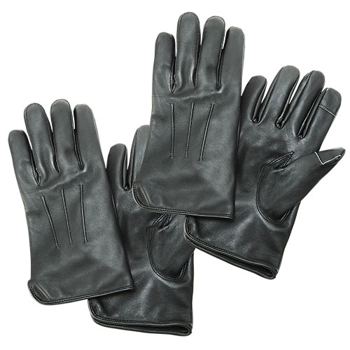 Burk's Bay Men's Leather Gloves - 2 Pack