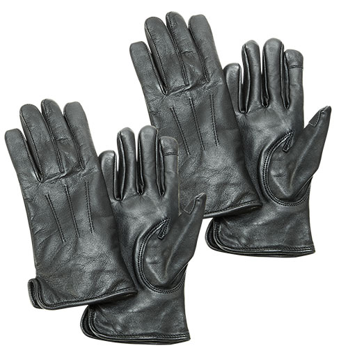 Burk's Bay Women's Leather Gloves - 2 Pack