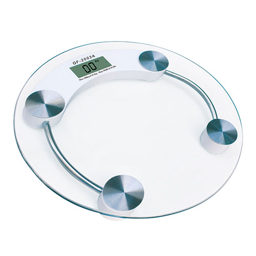 Glass Round Digital Bath Scale