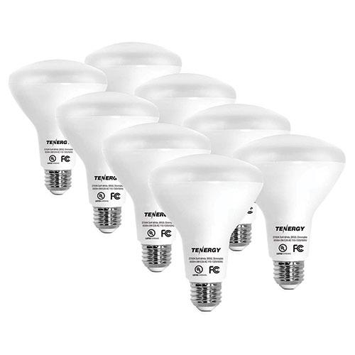 Tenergy Soft 60W White Bulbs - 8 Pack