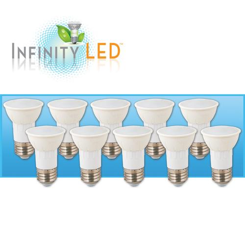 10 Pack Warm LED Bulbs