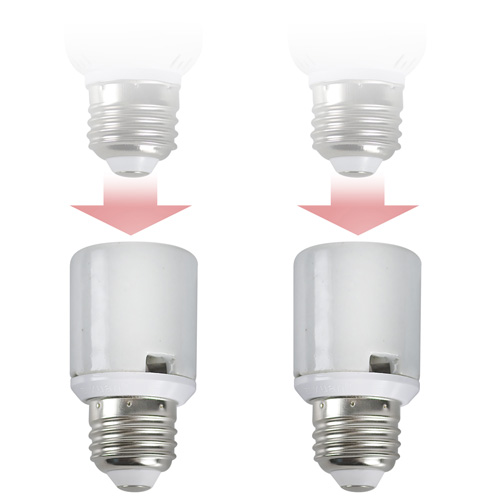 Miracle LED Socket Extenders - Set Of 2