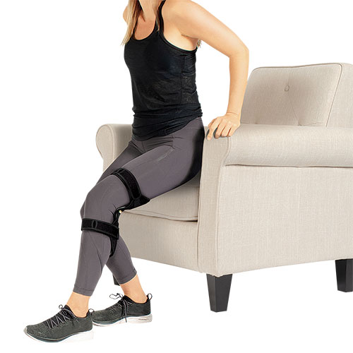 Spring-Powered Knee Supports - 2 Pack