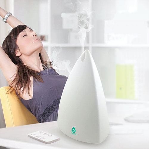 Aromatherapy Diffuser with Remote and 3 Oils