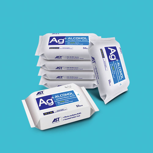 Ag+ Antibacterial Wipes - 300 Pack