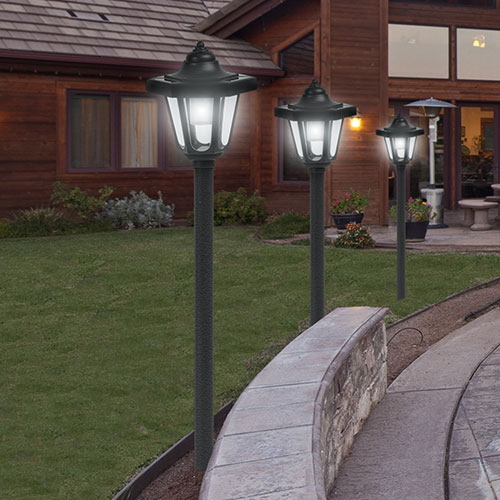 Heartland America 2 Pack Coach Style Solar Light