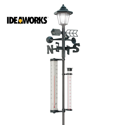 Ideaworks Weather Station with Rain Gauge
