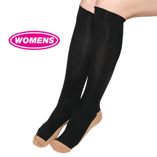 2 Pack Copper Compression Socks