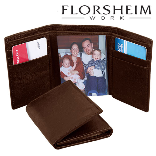 Florsheim Trifold RFID Wallet - Brown