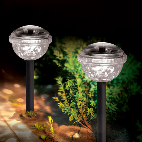 Ideaworks Color Changing Solar Lights - 4 Pack