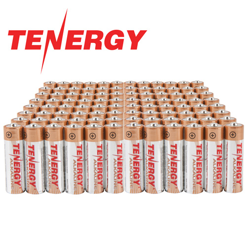 Heartland America: AA Tenergy Alkaline Batteries - 96 Pack
