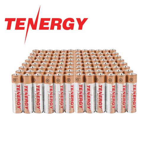AAA Tenergy Alkaline Batteries - 96 Pack
