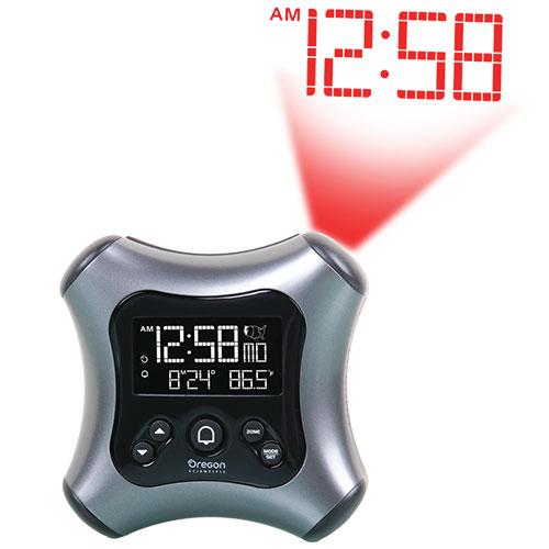 Oregon Scientific RM330BLK Projection Alarm Clock