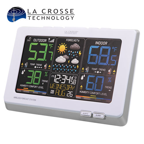 Lacrosse C87030 Color Wireless Weather Station