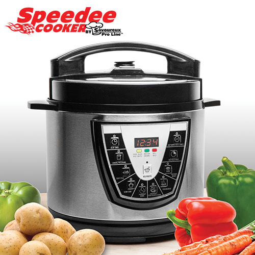 6 Quart Electronic Pressure Cooker