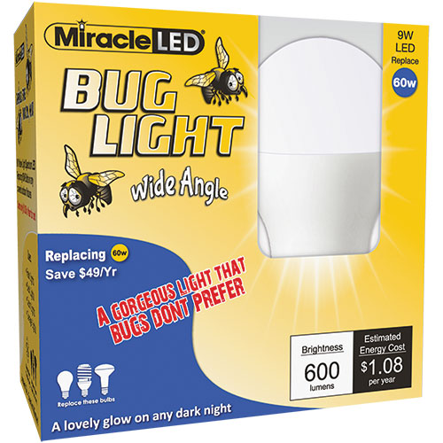 Miracle LED Bug Light - 8 Pack