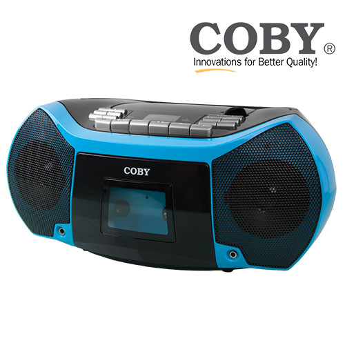 Coby CD/Cassette Player & Recorder