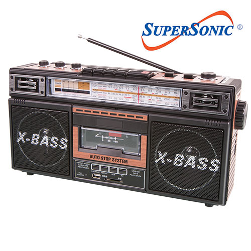SuperSonic Radio/Cassette Player