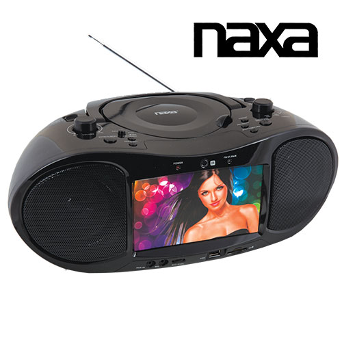 Naxa 7IN Boombox TV