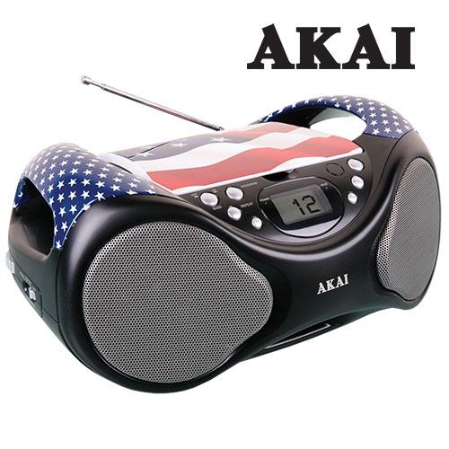 American Flag Boombox
