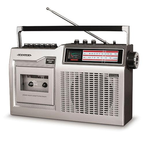 Crosley CT200 Classic Cassette Radio